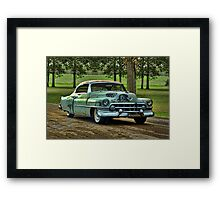 "1951 Cadillac ""Grandpa's Caddy"" Framed Print"