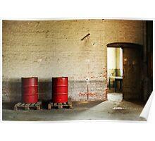 Red barrels Poster