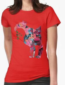 Flamingo Before Weekend Womens Fitted T-Shirt
