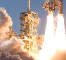 Space Shuttle Launch Sticker