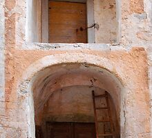 Entrance to Building in Rakitnik by jojobob