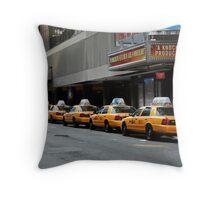 New York Fare  Throw Pillow