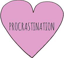 Procrastination Love by Bundjum