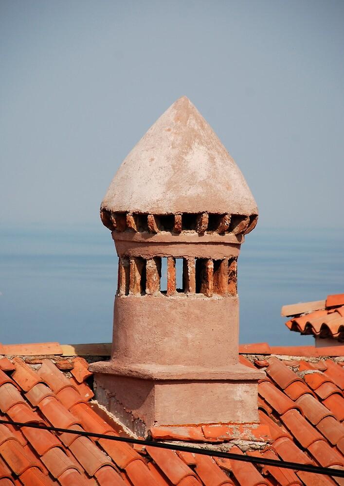 Chimney in Piran by jojobob