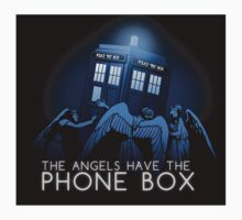 The Angels Have the Phone Box - STICKER by MeganLara