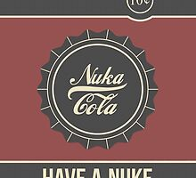 Nuka Cola by SOWSEEGG