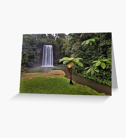 Milaa Milaa Falls... Greeting Card