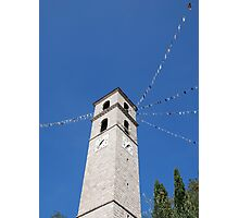 Chiesa di Santa Maria di Nives, Osoppo Photographic Print