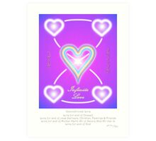 Love Infinite  Art Print