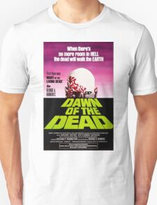 Dawn Of The Dead Movie Poster Unisex T-Shirt