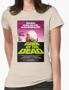 Dawn Of The Dead Movie Poster Womens Fitted T-Shirt