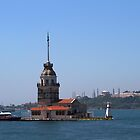 The Maiden's Tower in Istanbul by Jens Helmstedt