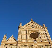 Basilica di Santa Croce in Florence by jojobob
