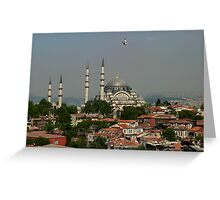 Suleymaniye Mosque Greeting Card