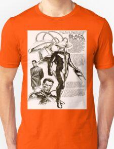 Black Manta Info Page T-Shirt