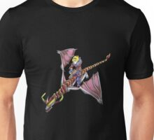 Ezreal riding Shyvana as Eragon with Saphira Unisex T-Shirt