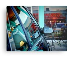 Mostly In The Glass At Tom Tabooley, Austin Texas Metal Print