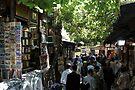 Old book bazaar in Istanbul by Jens Helmstedt