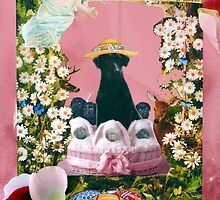 Happy Labrador Easter by Susan  Kimball