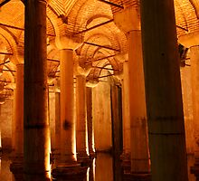 Byzantine Cistern - The Sunken Palace by Jens Helmstedt
