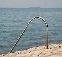 Izola Seafront Swimming Rail by jojobob