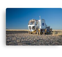 The Martian Truck Canvas Print