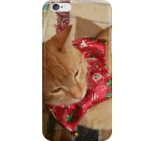 Xmas kitty iPhone Case/Skin