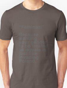 Feminazi Unisex T-Shirt