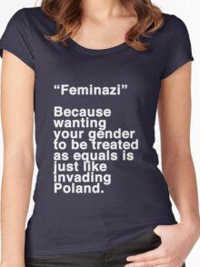 Feminazi Women's Fitted Scoop T-Shirt