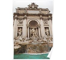 Trevi Fountain in Rome Poster