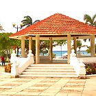 The Gazebo on Cozumel Plaza Downtown by ctjones51