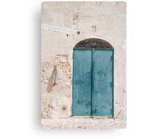 Door in Caveoso Sassi, Matera Metal Print