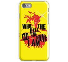 Kamina - An Inspirational Quote iPhone Case/Skin
