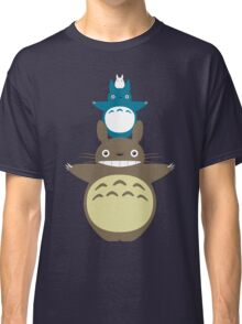Totoro Totem with Detail Classic T-Shirt