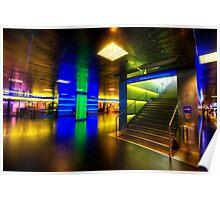 Hauptbahnhof Underground Poster