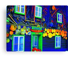 Sweet Home Canvas Print