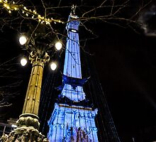 Indianapolis Soldiers and Sailors Monument by Bernie Hunt