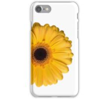 Yellow Gerbera iCase iPhone Case/Skin