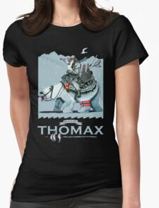 Thomax, Up North (Night) Womens Fitted T-Shirt