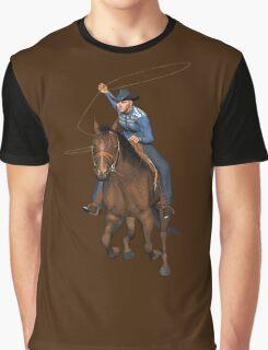 Cowboy Roper T_Shirt Graphic T-Shirt