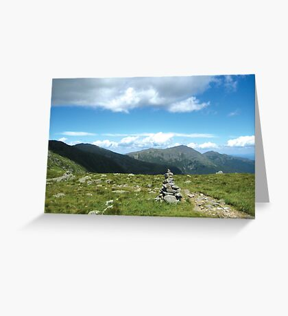Presidential Mountain Range Greeting Card