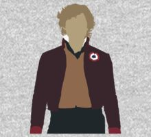 Enjolras - Aaron Tveit - Les Miserables minimalist design by Hrern1313