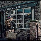 A new evacuee by Tarrby