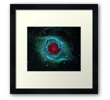 Comet or the Eye of God? Framed Print