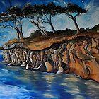 Saturna Cliffs (Saturna Island) by Cassandra Dolen