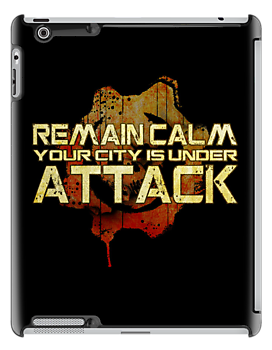 Remain Calm - Text v2 (iPad) by Adam Angold