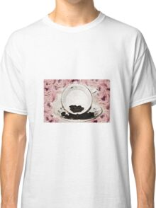 Roses and Coffee Classic T-Shirt