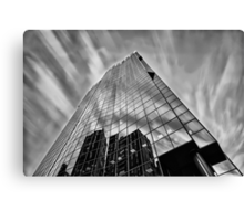 Sky in Motion at Mahou Tower  Canvas Print