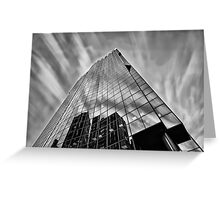 Sky in Motion at Mahou Tower  Greeting Card