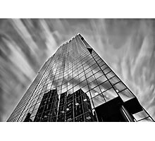 Sky in Motion at Mahou Tower  Photographic Print